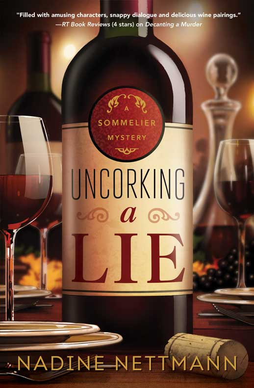 Uncorking a Lie Book Cover